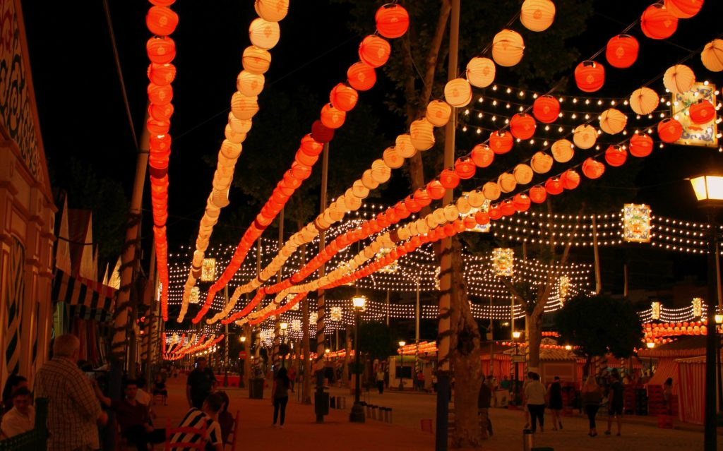 traditional-festivals-in-spain-feria-de-abril