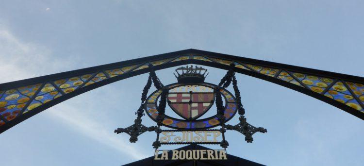 The Boqueria Market in Barcelona