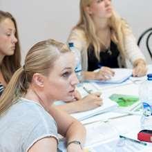 ISLA - students in intense class