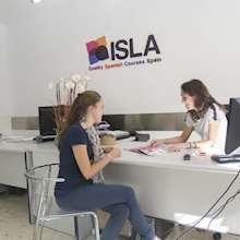 ISLA - reception desk