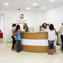 Giralda center reception in Seville