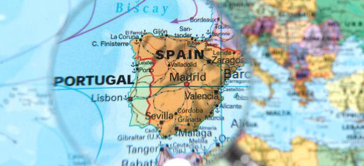스페인 위치