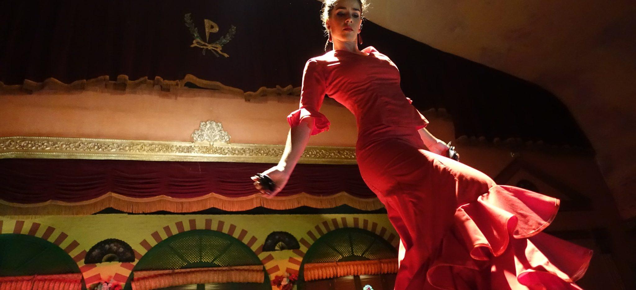 flamenco class in seville
