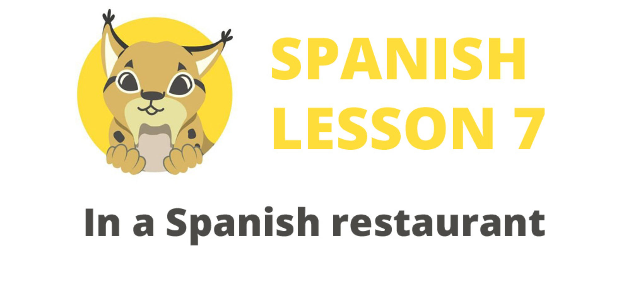 In a Spanish restaurant