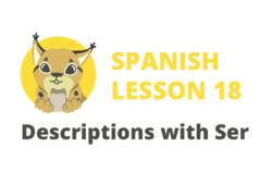 Descriptions with Ser