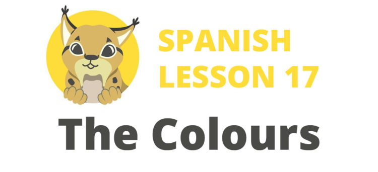 The Colours in Spanish