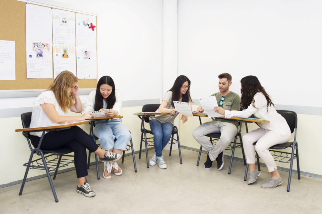 high-intensity Spanish school Barcelona