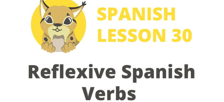 Reflexive Spanish Verbs