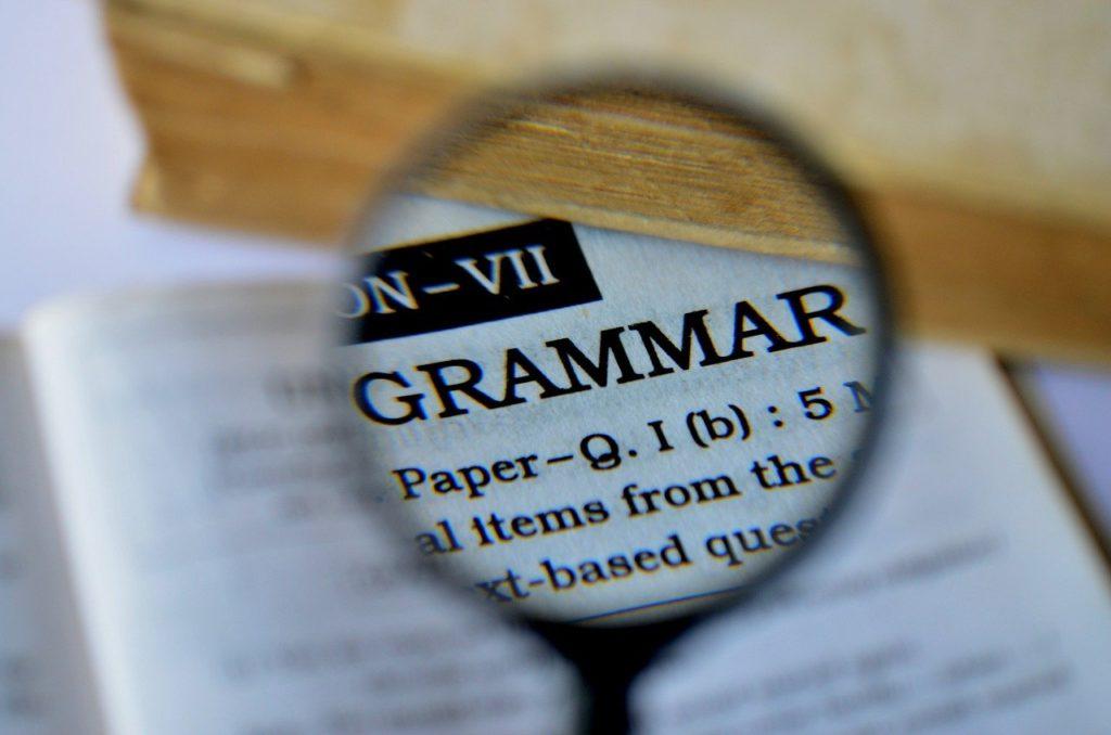 Spanish Grammar Terminology