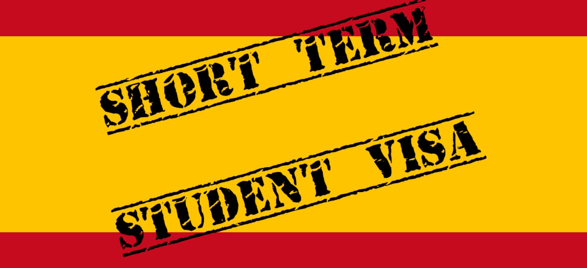 Spain Short-term Student Visa