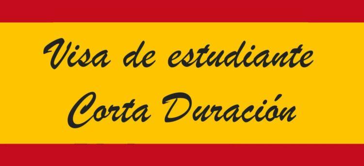 Visa de estudiante de corta duración para España (91 a 180 días)